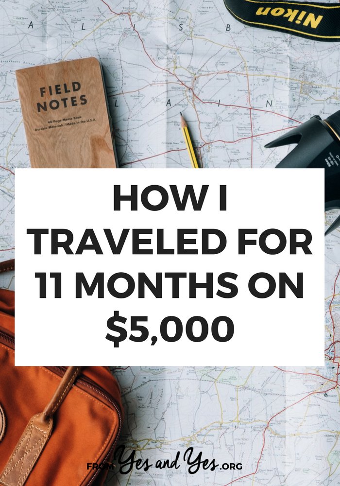 Want to travel on the cheap? Who doesn't? These budget travel tips helped me travel through 7 countries, over 11 months, for just $5,000 dollars. Click through for affordable travel tips you haven't heard before!