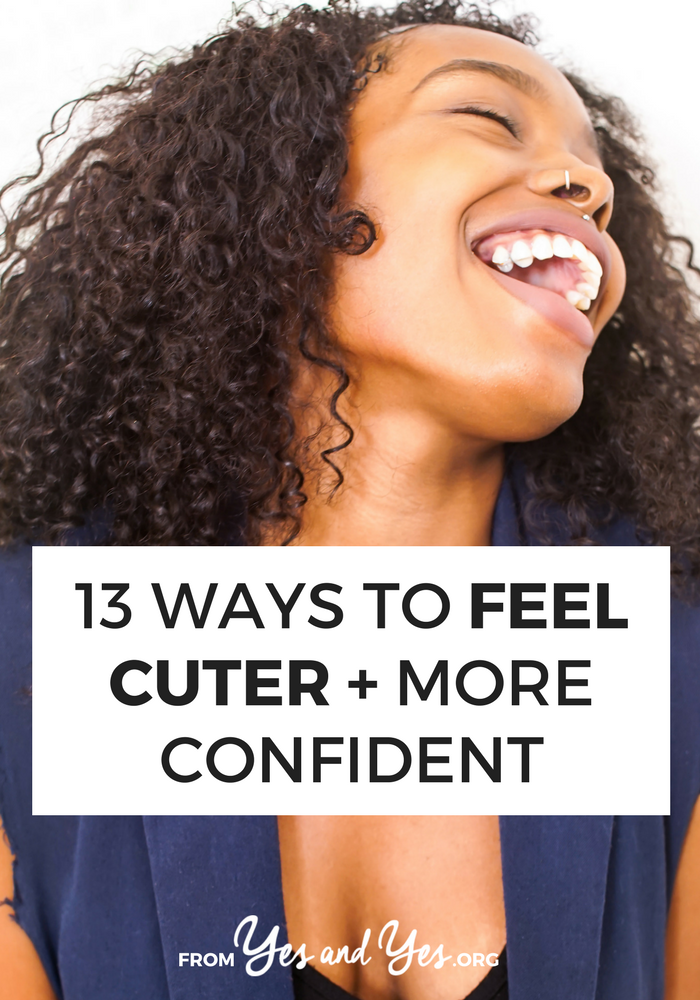 Sure, this post has great beauty tips and style tips, but feeling cute is just as much about makeup as mindset. Click through and feel cuter today >> yesandyes.org