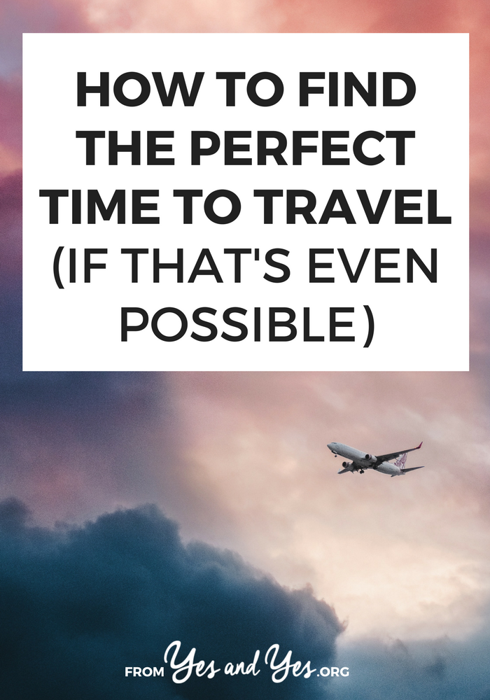 Trying to figure out the perfect time to travel? Not sure when to plan a trip - when you're single and mortgage-free? When your kids can join you? Click through for helping finding the best time of life to travel!