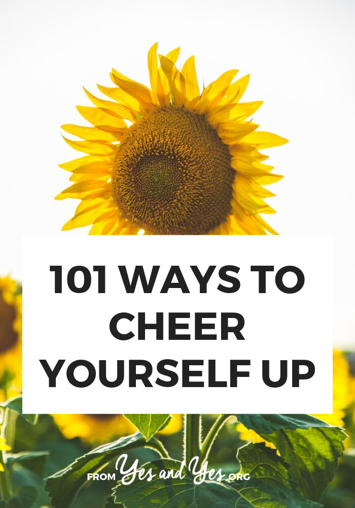 Need to cheer yourself up? We all need some happiness tips from time to time! Whether you need better self-care or just a mood boost, these tips will help! #happinesstips #cheerup