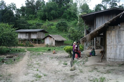 living with hill tribes in thailand