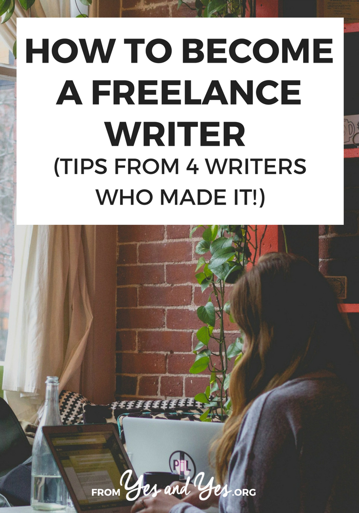 Want to become a freelance writer but you're not sure where you start? Click through for pitching advice, tips for dealing with rejection, and lots of other writing advice from freelance writers who have made it!