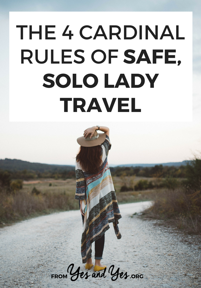Traveling alone when you're a woman isn't as hard or scary as people would have you believe! If you're looking for solo female travel advice, this is for you - I learned these safe travel tips from 20+ years and 38 countries! Click through to plan your solo trip today. #solotravel #singletravel #femaletravel #womantravel