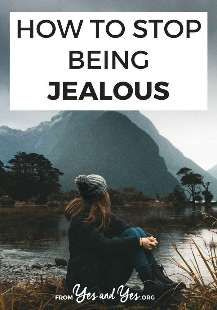 Want to stop being jealous? Wish you didn't feel envious of other's success? Click through for tips on ending feelings of jealousy now.