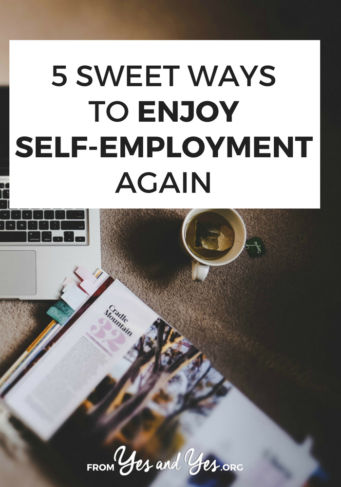 Looking for self-employed tips? Want to enjoy being self-employed again? Working for yourself can be isolating, tedious, and frustrating. These 5 tips will help you like it again!