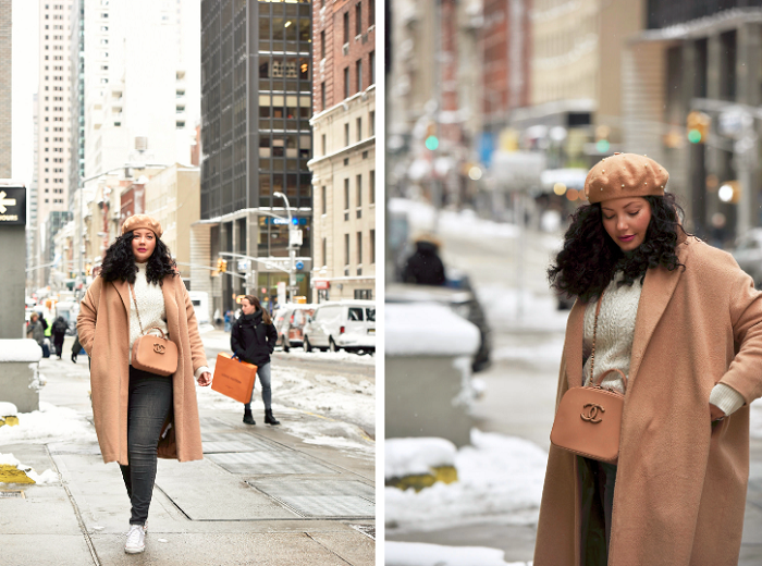 Winter neutrals + an interview filled with curvy style tips!