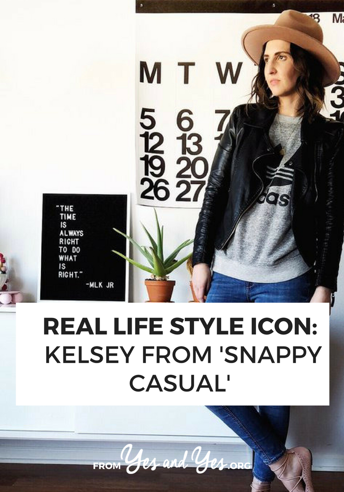 An Adidas sweatshirt and black motorcycle jacket + style tips from your favorite Iowa fashion blogger!