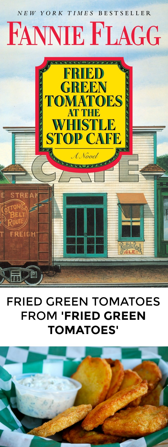 Looking for a fried green tomatoes recipe to impress your book club? Click through for this great southern recipe!