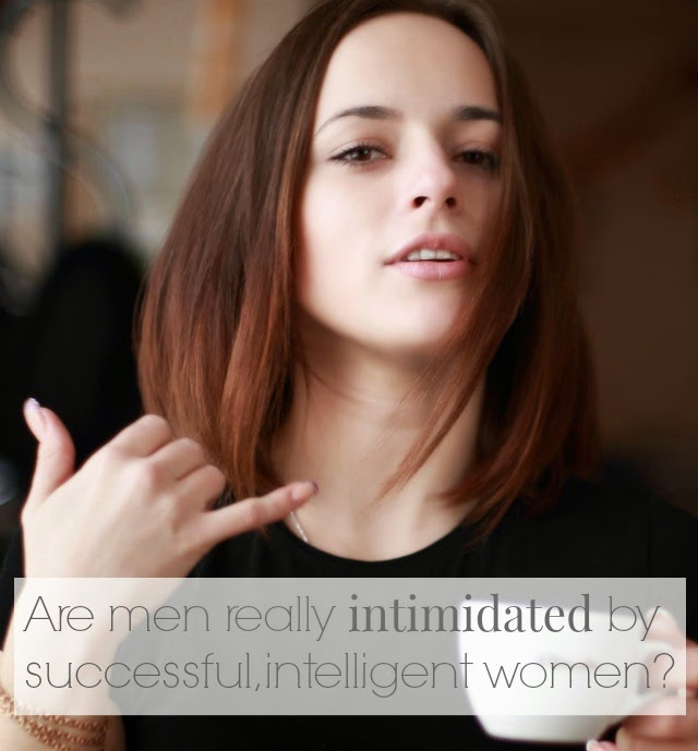 men intimidated by women