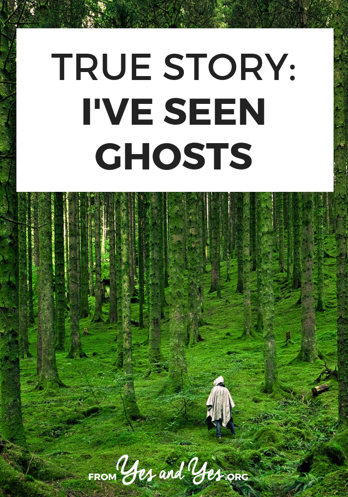Have you ever seen a ghost? What would you do if you did? An interesting interview with a woman who's seen them multiple times. >> yesandyes.org
