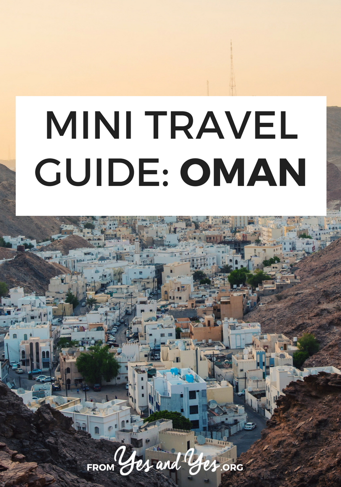 Looking for a travel guide to Oman? Click through for Omani travel tips from an expat - where to go, what to do, what to eat, and how to do it cheaply!