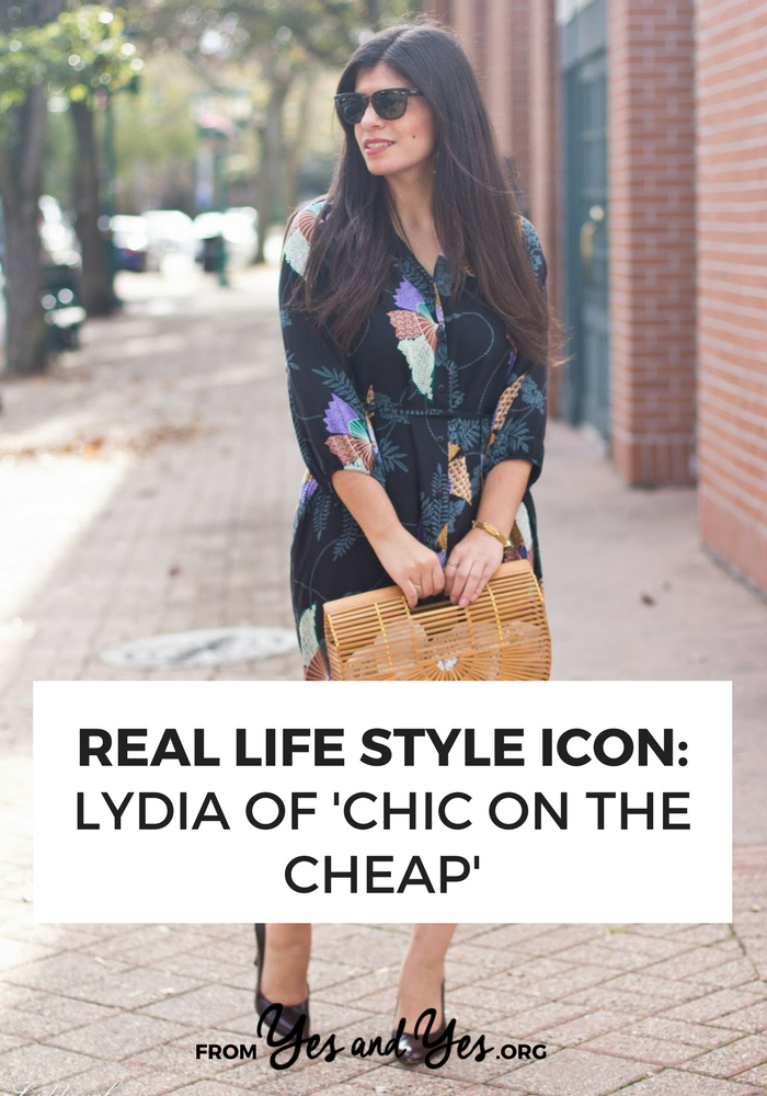 A print dress and a wicker purse + style tips from your favorite Latina style blogger!