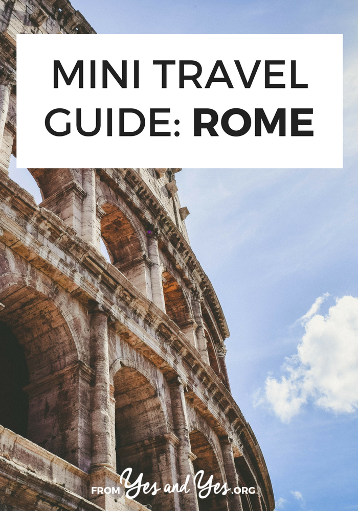 Looking for a travel guide to Rome? Click through for Rome travel tips from a local - where to go, what to do, and how to travel in Rome cheaply!