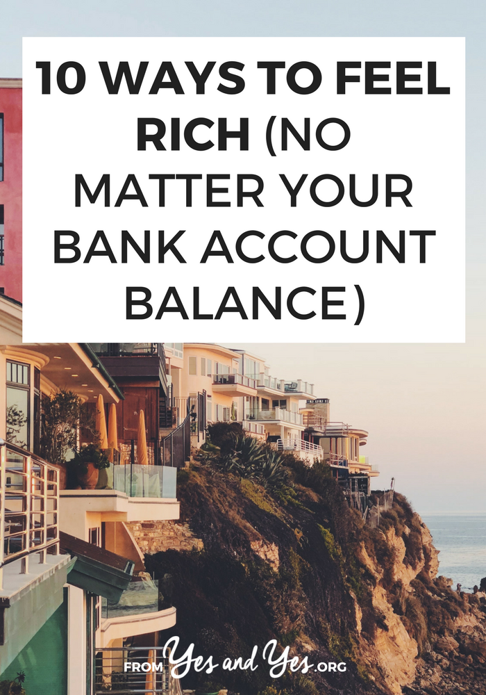 Looking for ways to feel rich? Luxury doesn't have to cost a lot and money doesn't buy class. Click through for 10 budget-friendly ways to feel rich without spending a lot of money!