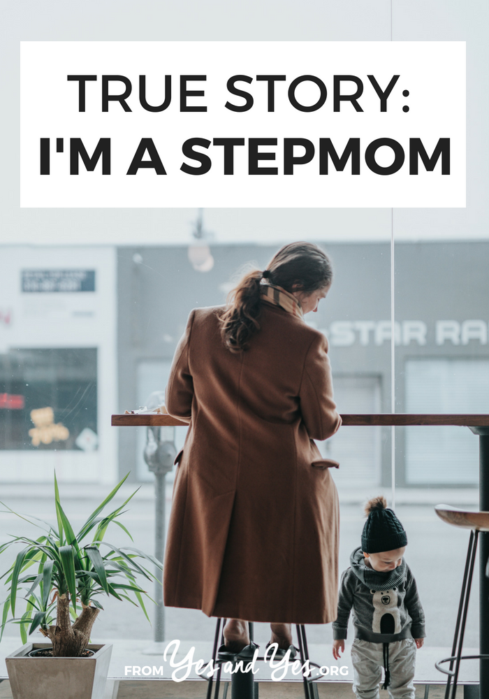 What's it like to be a stepmom? If you're looking for blended family tips or step-parenting advice, click through for one woman's story.