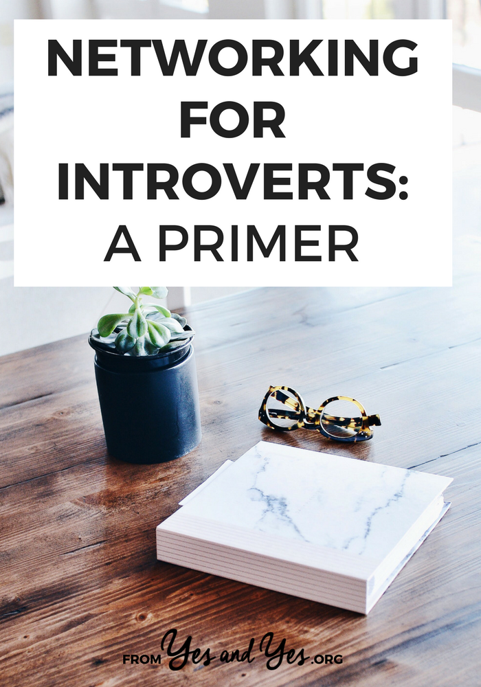 Networking for introverts - is it even possible? Of course! Click through for networking tips + career advice that will help you, introverted OR extroverted!