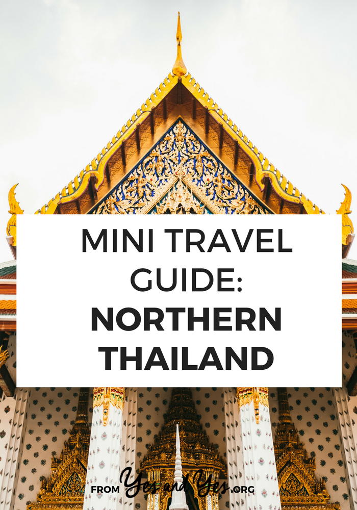 Looking for a travel guide to Northern Thailand? Click through for Thai travel tips from an expat - what to do, where to go, what to eat, and how to travel through Thailand cheaply and safely!
