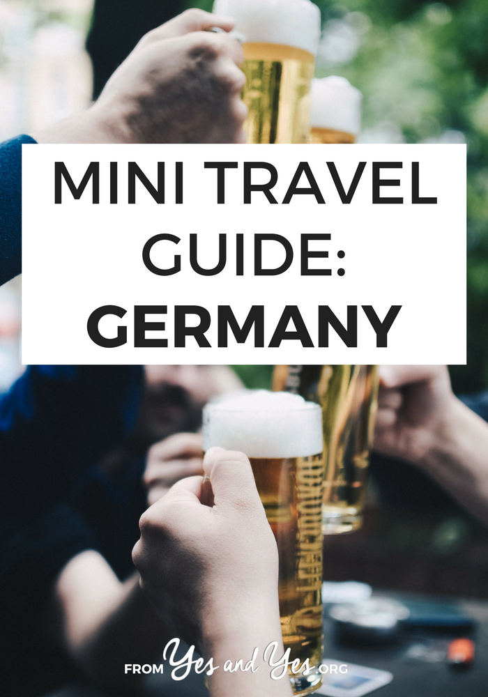 Looking for a basic travel guide to Germany? You're in the right place! Click through for from-a-local tips on what to do, where to go, and what to eat in Germany!
