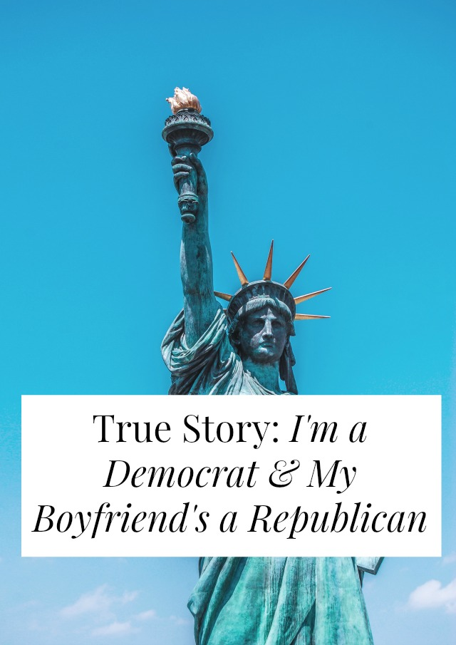 Could you date someone whose political opinions run counter to yours? If you're a Democrat could you have a Republican boyfriend? One woman shares her story! >> yesandyes.org