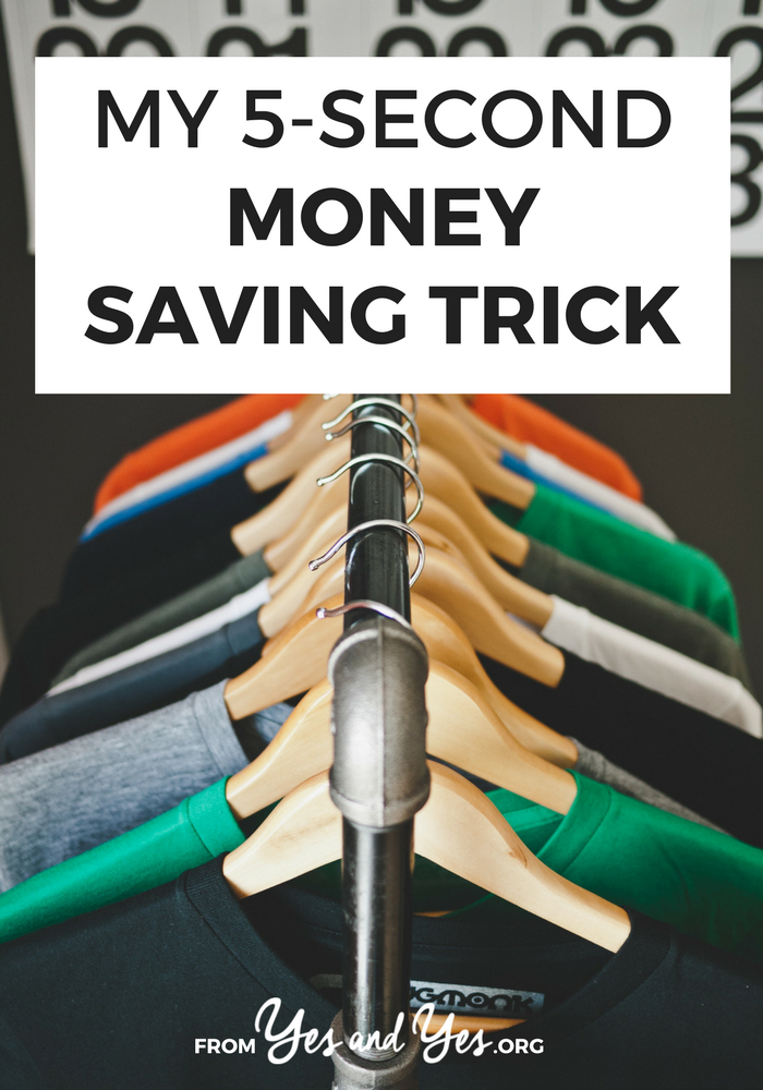 This one budget tip has saved me hundreds (or thousands!) of dollars! Money saving tricks don't get much easier than this! Click through and start using it today! >> yesandyes.org