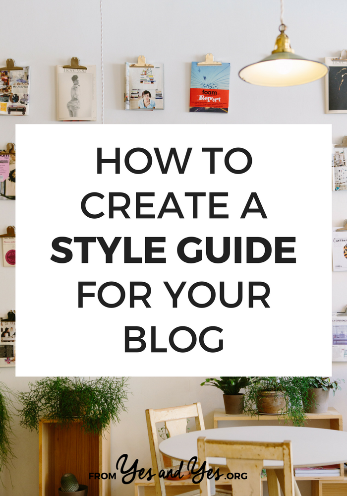How do you create a style guide for your blog? How many choices do you make? Where do you find fonts? This blog post will teach you how!