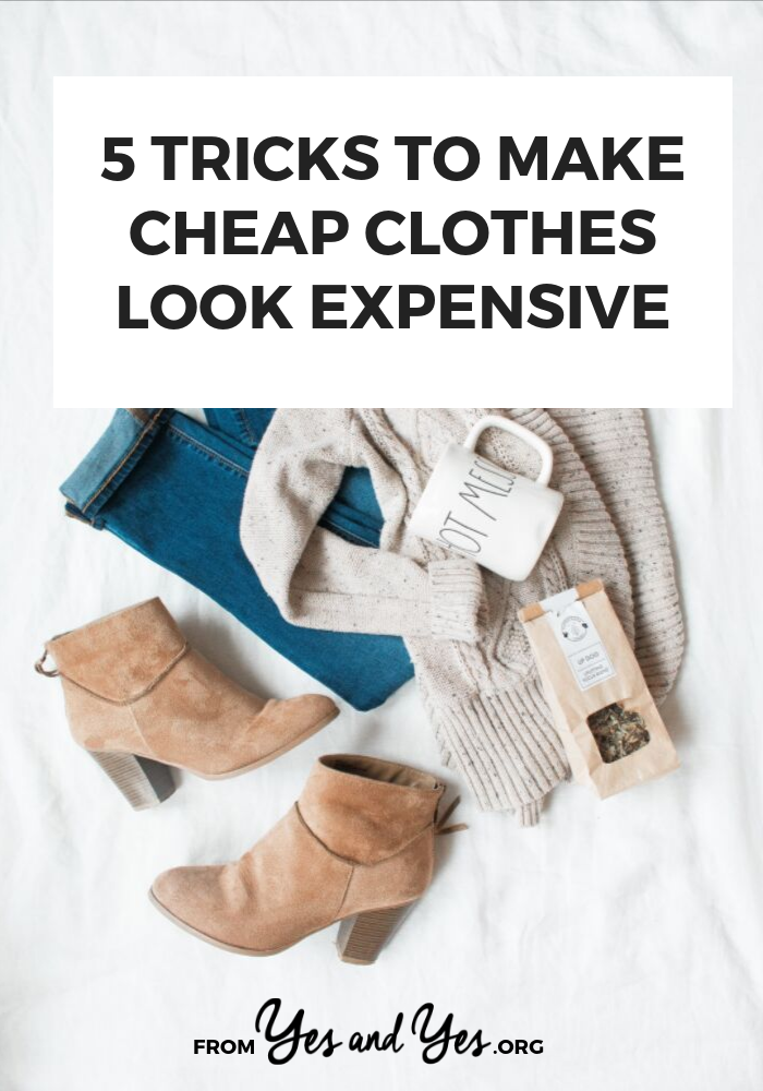 Do you want to make your cheap clothes look expensive? Interested in budget fashion tips? Tap through for tips on how to look bougie! #budgetfashion #budgetstyle #moneytips #budgeting #personalfinance