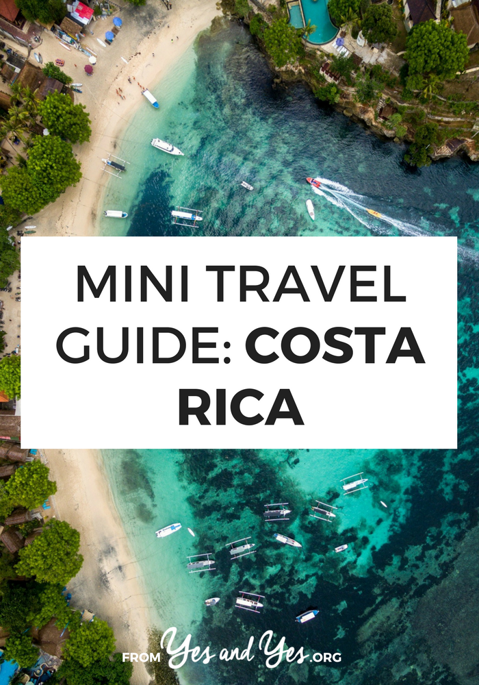 Looking for a travel guide to Costa Rica? Click through for Costa Rica travel tips from a local on what to do, what to eat, where to go, and how to do it all cheaply!