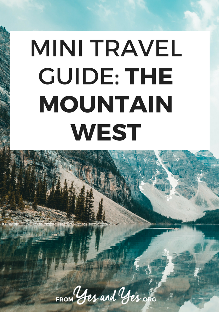 Looking for a travel guide to the Rockies or the mountain west? Click through for Rockies travel tips from a local - what to do, where to go, and how to travel the Rockies cheaply and safely!
