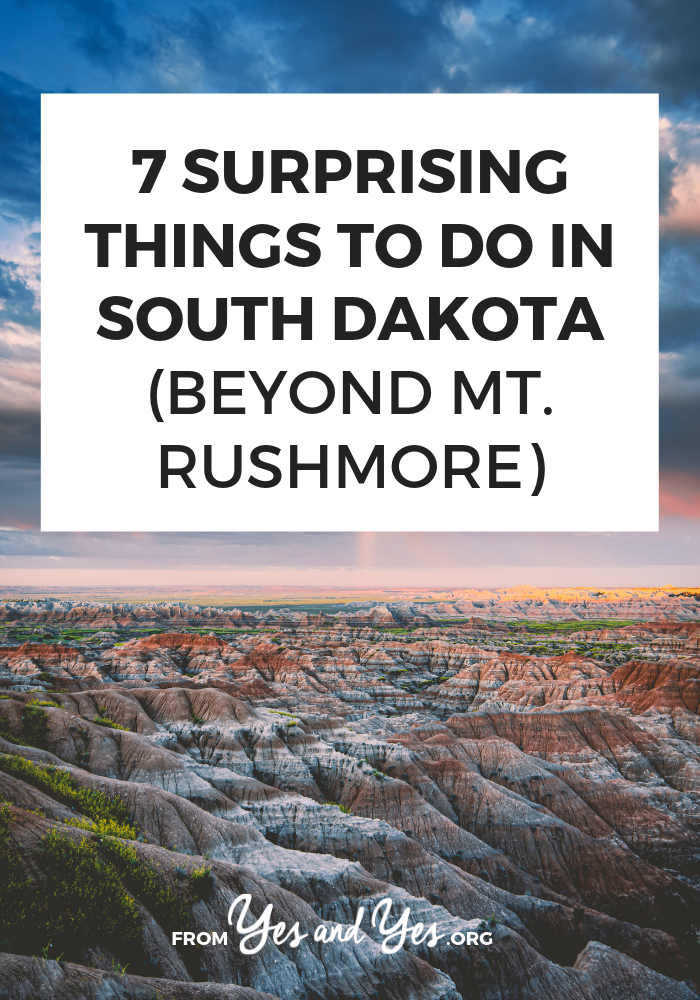Yes, there really are tons of fun things to do in South Dakota! If you're looking for South Dakota travel tips or off-the-beaten-path South Dakota, this is the post for you. #southdakotatravel #southdakotatraveltips