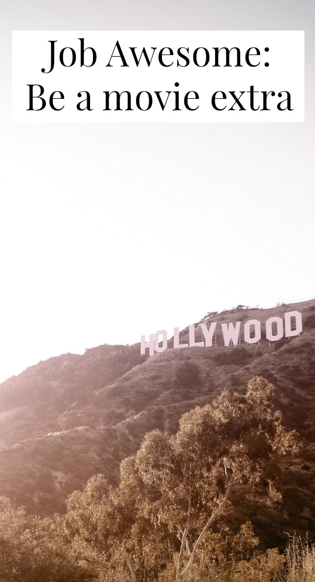 Have you ever wanted to be a movie extra? Find out how here.