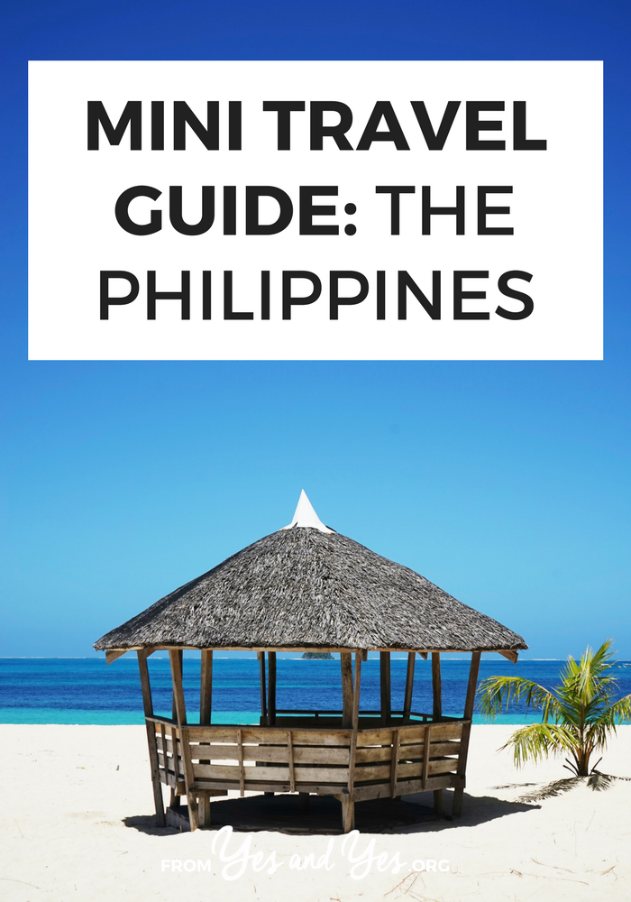 Looking for a travel guide to the Philippines? Click through for from-a-local Philippines travel tips about what to do, where to go, what to eat, and how to do it all cheaply!