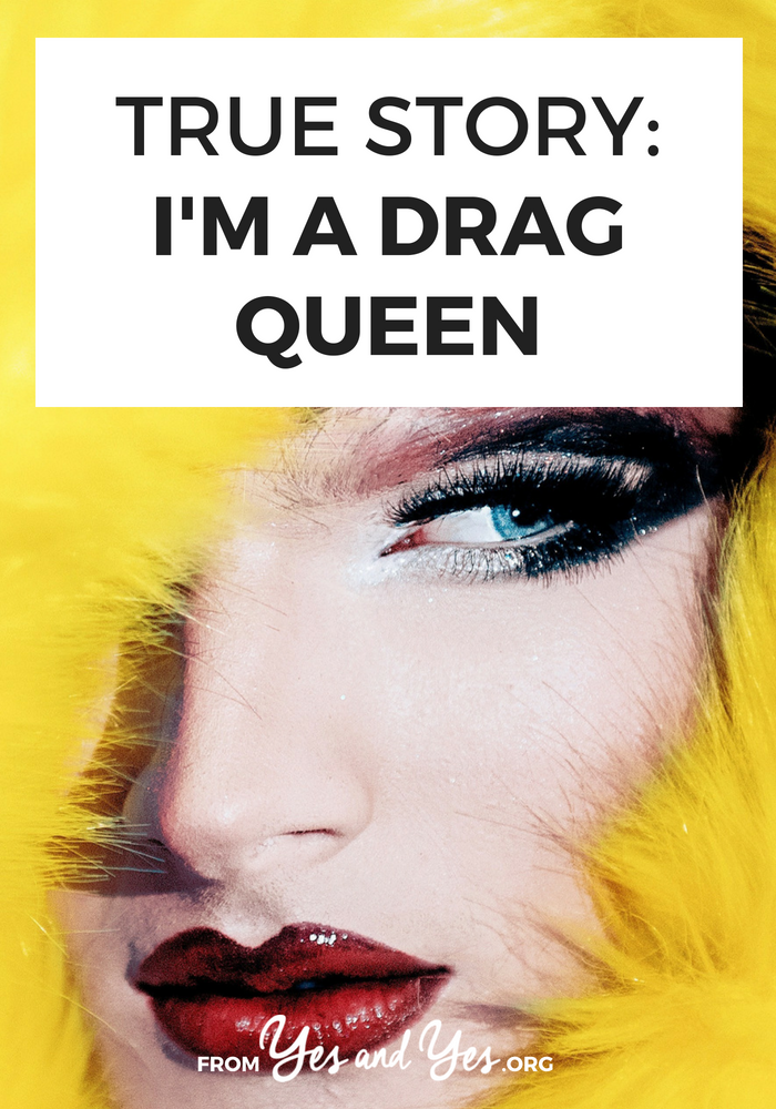 What's it like to be a drag queen? Where do you find time to perform if you're working a 9-to-5? What's it like to audition for RuPaul's Drag Race? Click through for one drag queen's story!