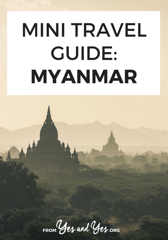 Looking for a travel guide to Myanmar or Burma? Click through for Myanmar travel tips form a local - what to do, where to go, and how to travel Burma cheaply, safely, and respectfully!