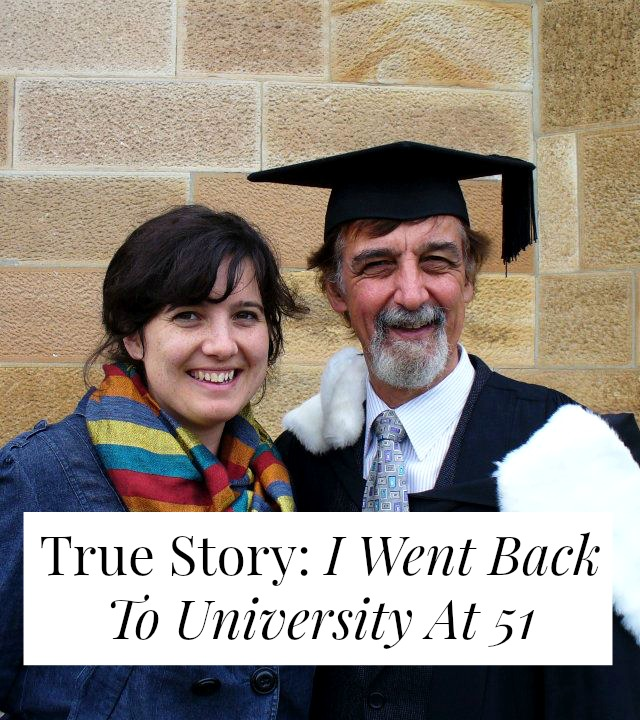 If you dropped out of college, would you have the gumption and tenacity to go back? At 51? And take classes alongside your child?! One man shares his story >> yesandyes.org