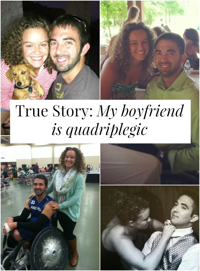 What's life like when your boyfriend is quadriplegic? One woman shares her story. // yesandyes.org