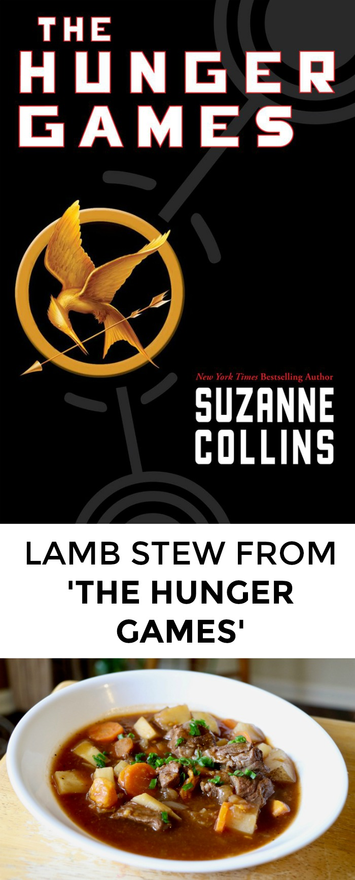 Looking for a Hunger Games recipe to impress your book club? Click through for lamb stew Katniss would love!