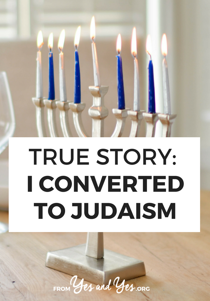 What's it like to convert to Judaism? What do you have to do to become Jewish? Click through for one man's conversion story!