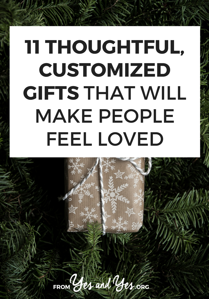 Looking for customized gifts? Or last-minute present ideas? These gift ideas are thoughtful, easy, and not particularly expensive ... and you print a lot of them right for your computer or purchase on Amazon Prime!