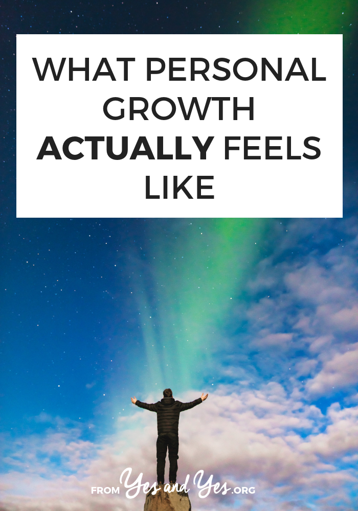 What does personal growth feel like? If you're interested in motivation tips, self-help, or personal development, click through for some great insights.