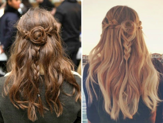 Want some easy hairstyles? Even better - easy hairstyles for dirty hair? Click through for 7 simple hairdos even the laziest of us can pull off!
