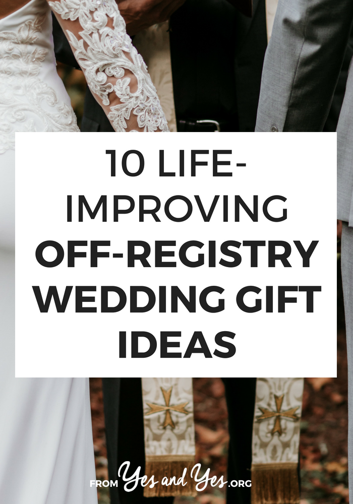 Looking for off registry wedding gift ideas? Or budget wedding gifts that are super thoughtful? Click through for 10 wedding gift ideas any couple would love!