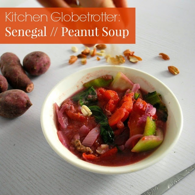 Senegal peanut soup