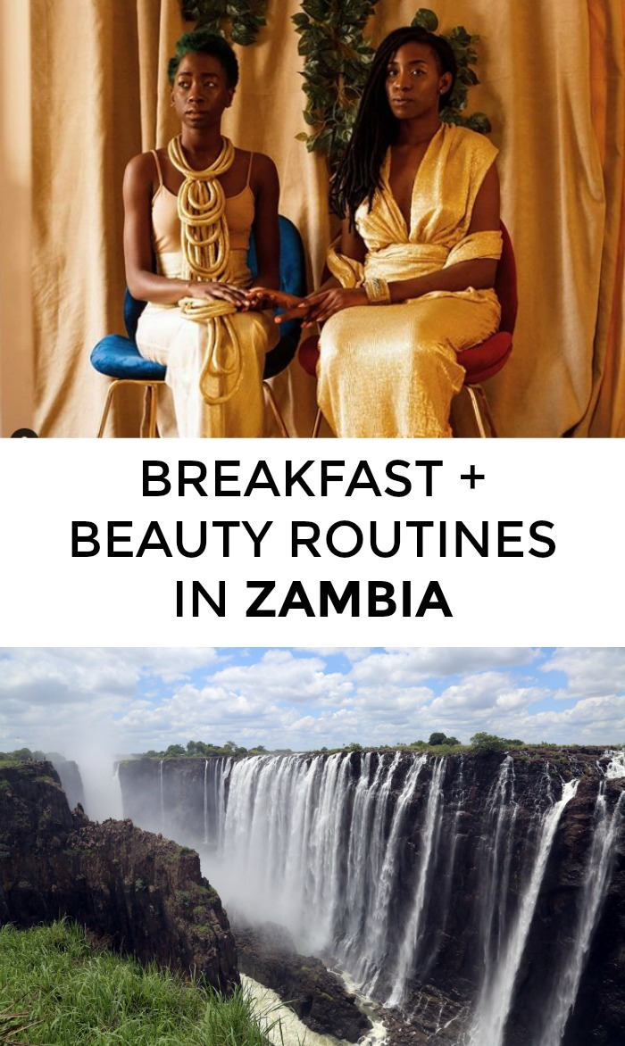 Wondering about beauty routines in Zambia? Or the best Zambia breakfasts? Click through for Zambia beauty tips from two locals!