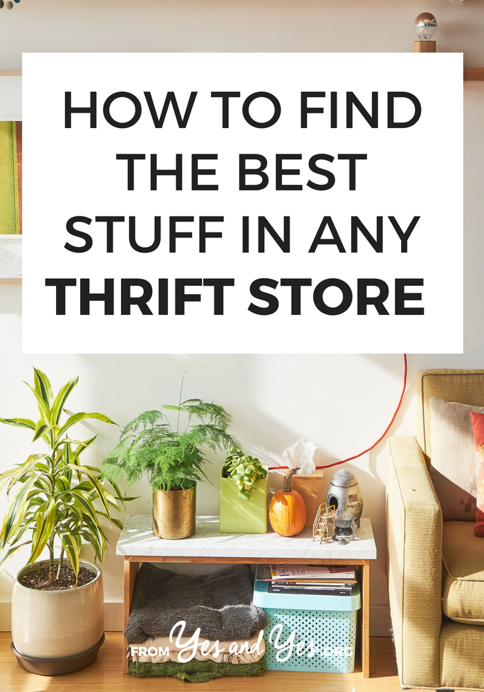Want to find the best stuff in the thrift store? Looking for thrifting tips or budgeting tips? You're in the right place! Click through for my best tips on second hand shopping!