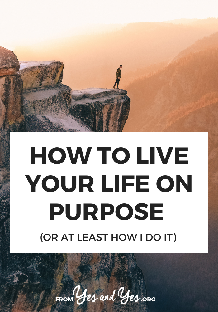 What does it mean to live life on purpose? What does intentional living look like? The answer is different for everyone. Click through for 4 things I do to make sure my life looks + feels the way I want