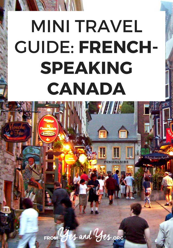 Looking for a travel guide to French Speaking Canada? You're in the right place! Click through for from-a-local Quebec travel tips on where to go, what to do, what to eat, Quebec cultural tips, and cheap travel advice!