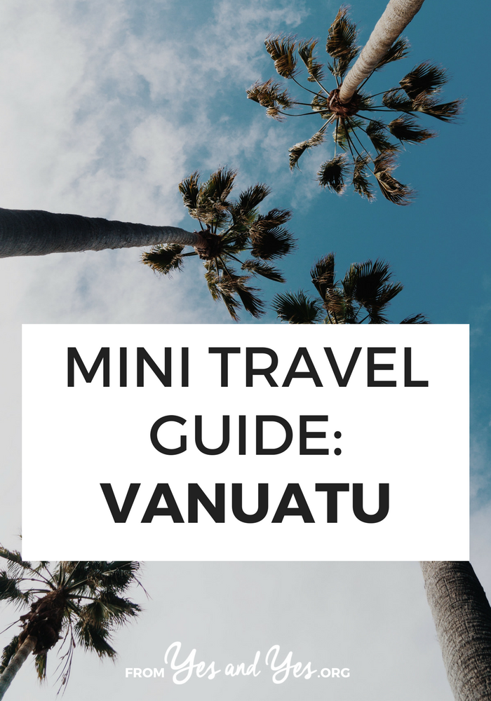 Looking for a travel guide to Vanuatu? Click through for Vanuatu travel tips from a local - what to do, where to go, and how to do it all cheaply, safely, and respectfully!