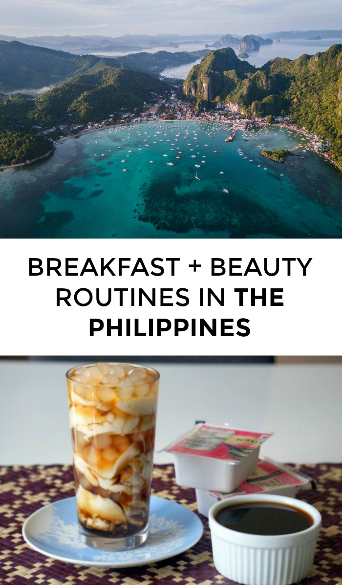 What do Philippines beauty routines and breakfasts look like? Click through for Filipino beauty tips and breakfast recipes!