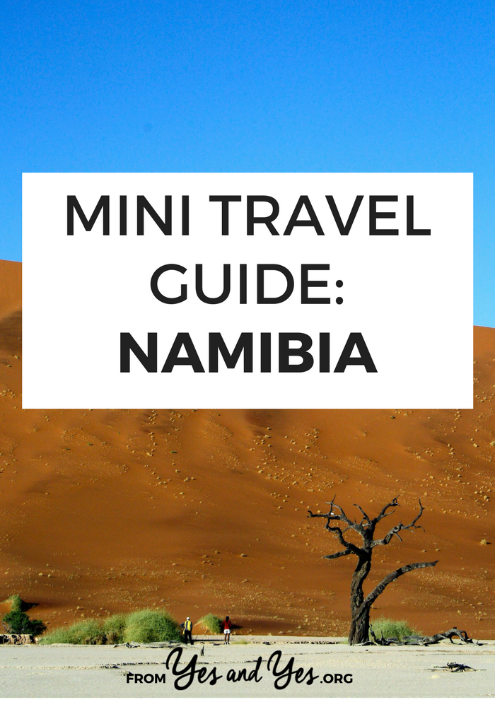 Looking for a travel guide to Namibia? Click through for Namibia travel tips from a local - what to do, where to go, and how to do it all cheaply!