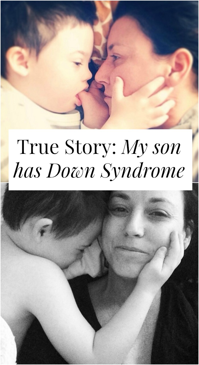 What's life like when your son has Down Syndrome? How do you navigate life when you have a child with special needs? How can you be your best self and best parent? Click through for one woman's story